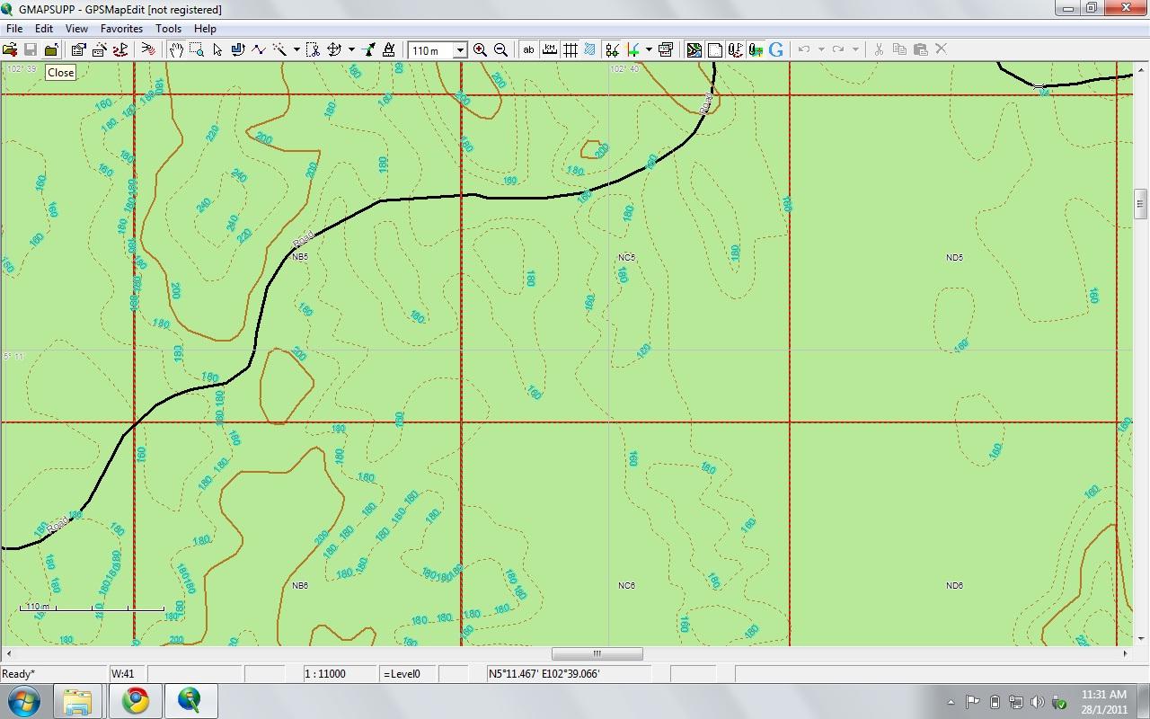Toolbox update 1: Uploading custom maps to Garmin GPS – Rimba