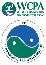 WCPA and IRF logos